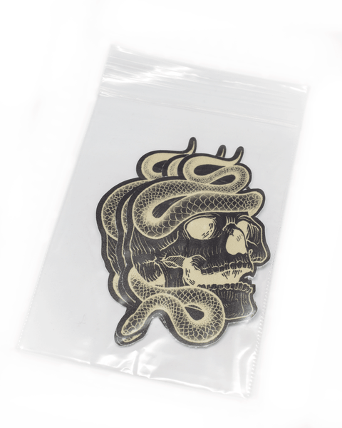 Vantablack Limited - Skull Stickers (mat) - Dirty Store