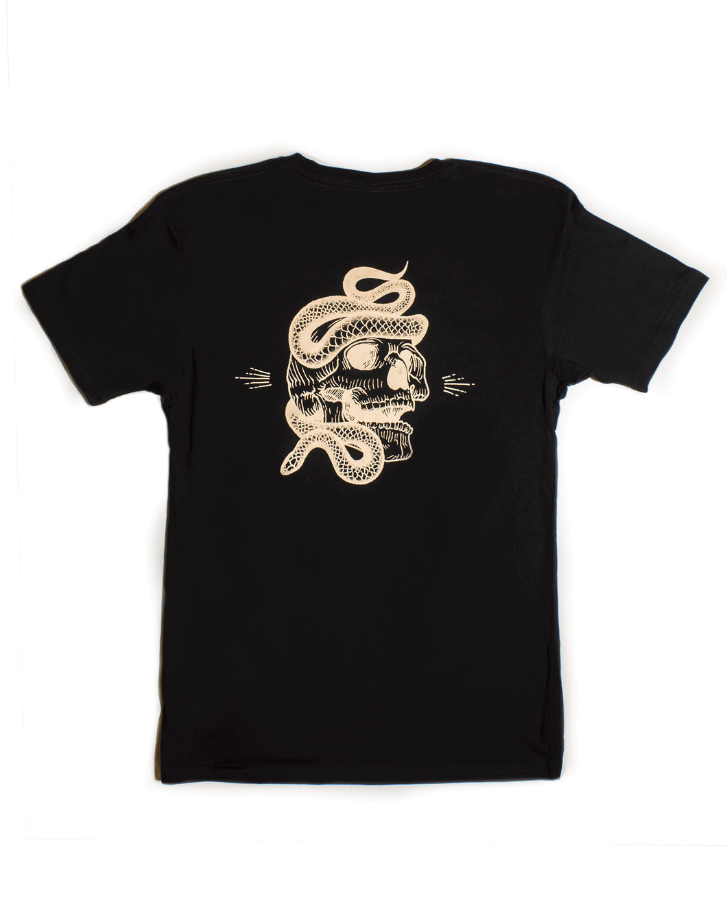 Vantablack Limited - Skull Tee (Black) - SOLD OUT - Dirty Store