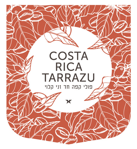Costa Rica Tarrazu (קפה מקוסטה ריקה) - Green Hut Coffee