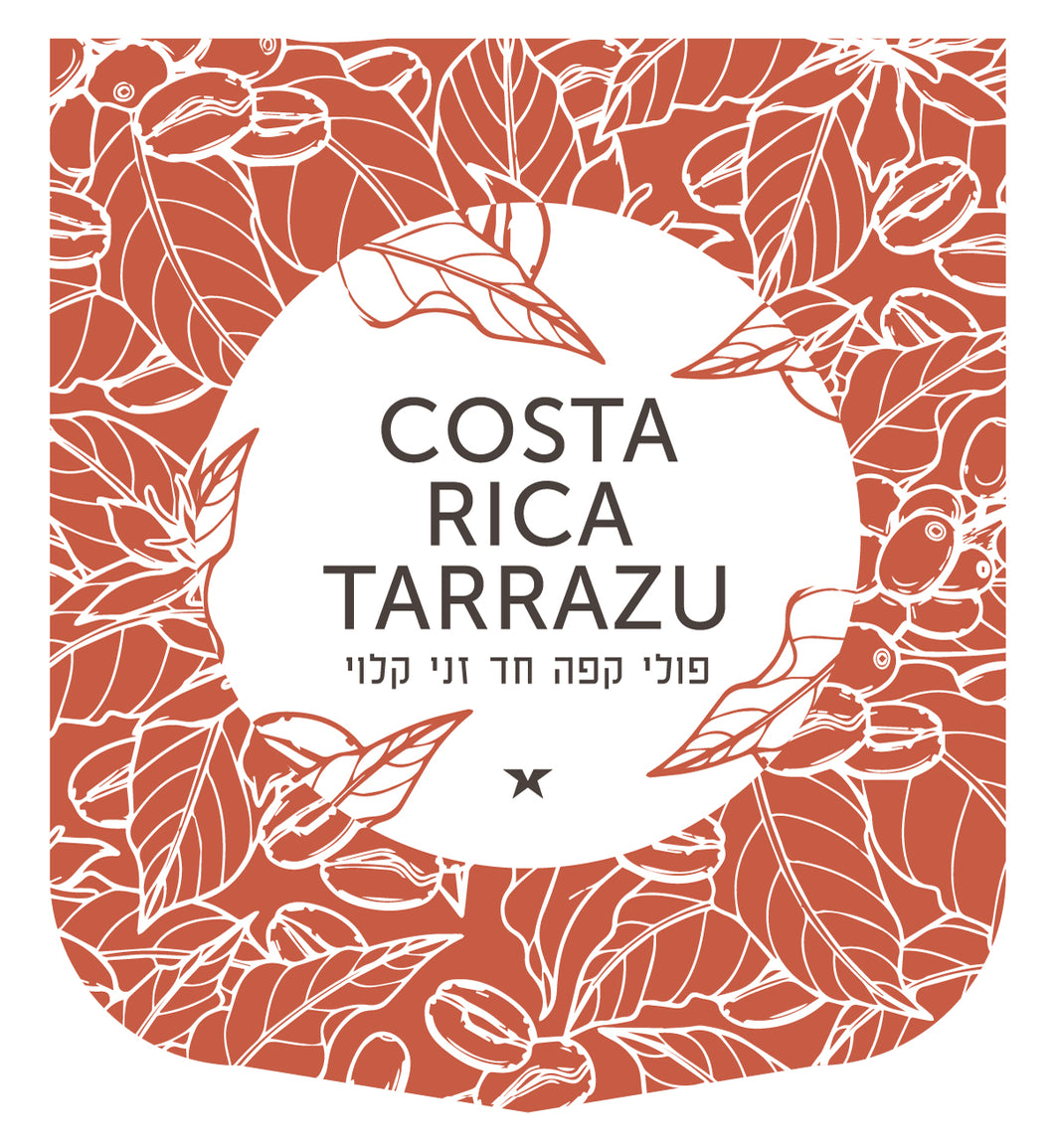 Costa Rica Tarrazu (טרזו) - Green Hut Coffee
