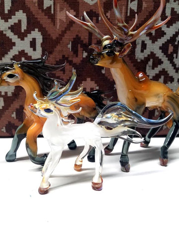 Hand Blown Glass Art Animals & Sculptures