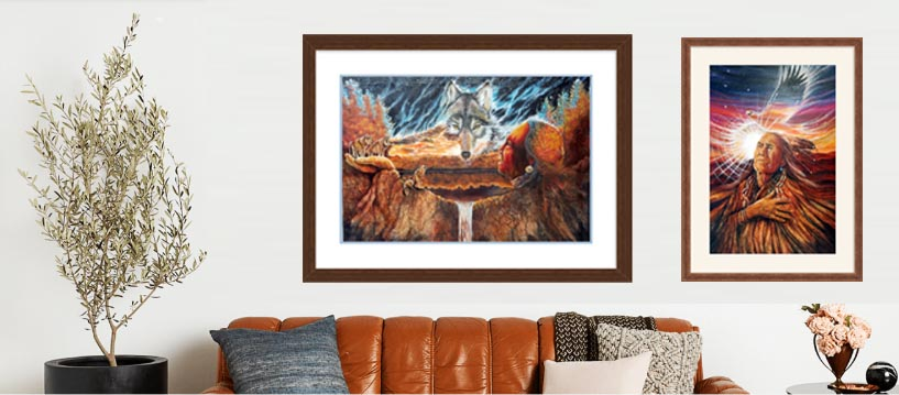 Framed Art Prints- Custom Framing Options for Your Art