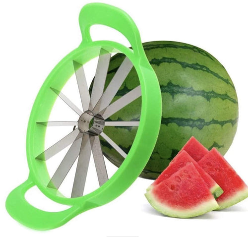 Stainless Steel Fruit Slicer For Watermelon, Muskmelon, Pineapple Etc.