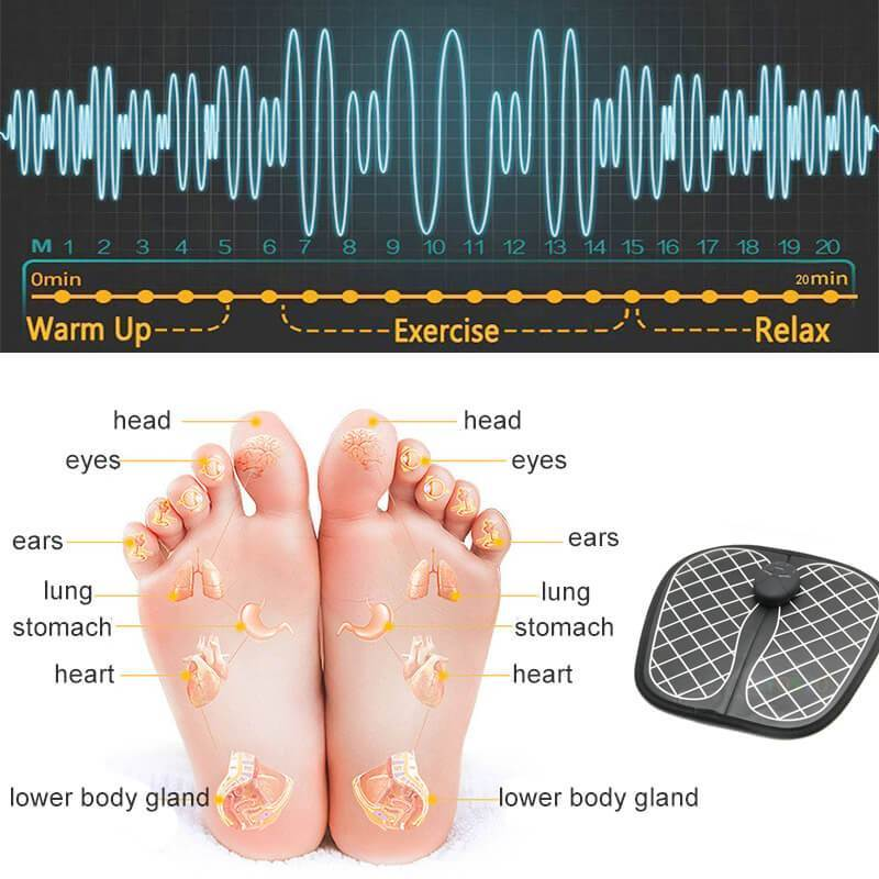 EMS Relax Foot Massager - Flat 50% OFF TODAY