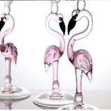 Creative Flamingo Glass Set