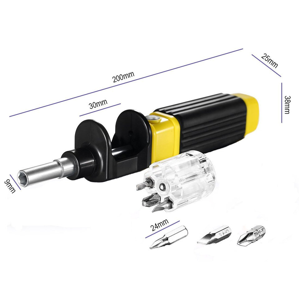 360º 6-in-1 Multipurpose Screwdriver