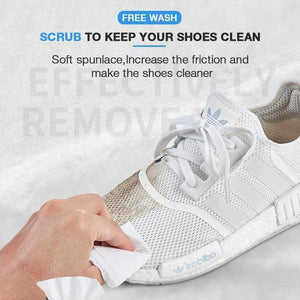 Quick Shoe Cleaning sheets (Set of 12)