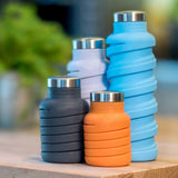 Silicone Expandable & Foldable Drinking Water Bottle