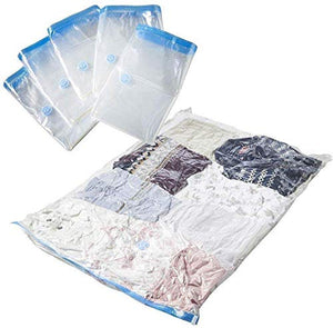 Vacuum Storage Reusable Ziplock Space Saver Bags 3 Small Bag 3X(40 * 60CM)+HANDPUMP