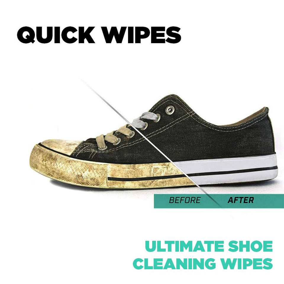 Quick Shoe Wipes (Pack of 10)