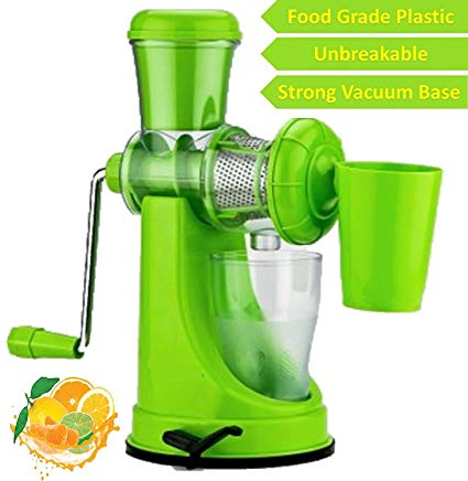 FRUITS AND VEGETABLES HAND JUICER