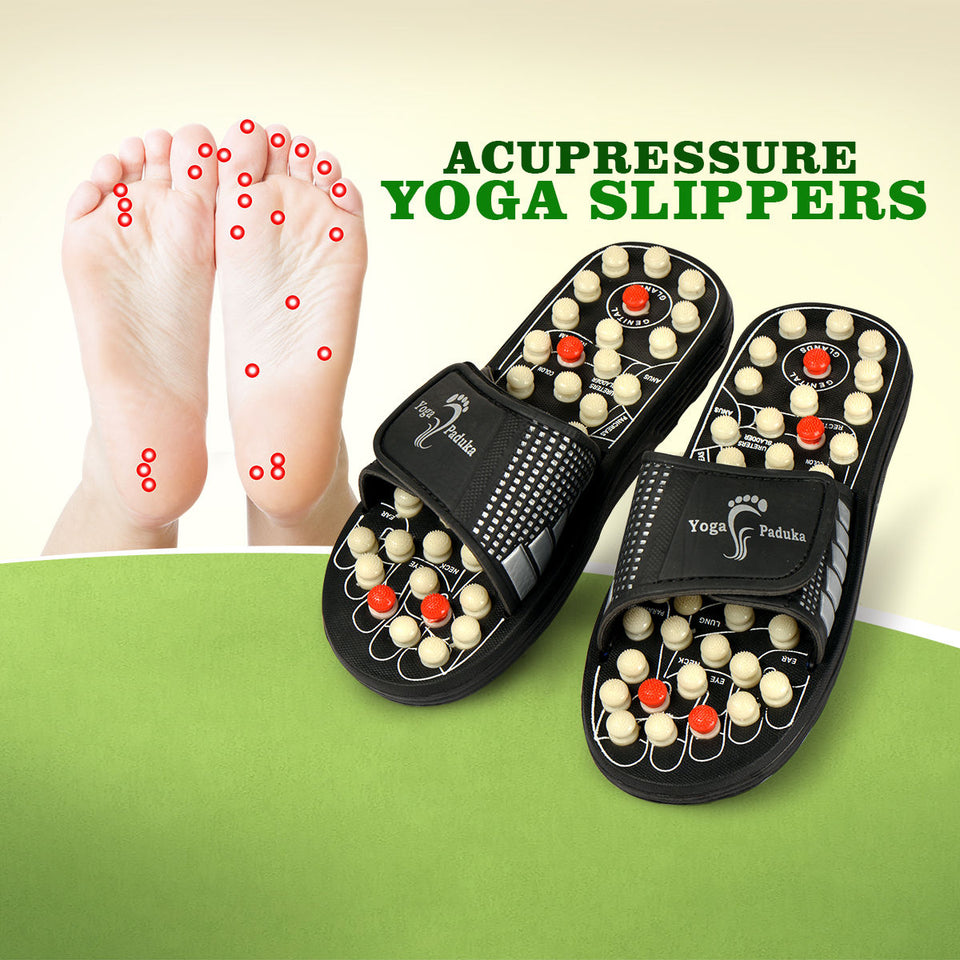 Acupressure Foot Massager slippers (योगा पादुका)