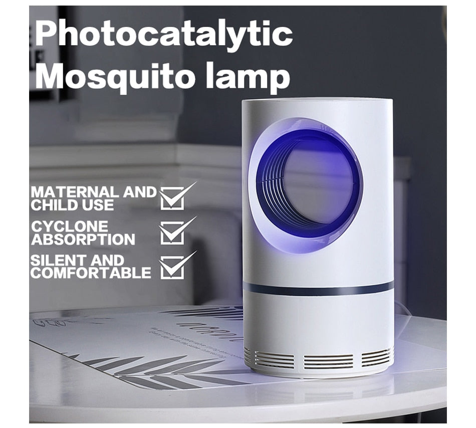 Photocatalyst Mosquito  Killer Lamp