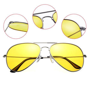 Night Vision Polarised Wing Aviators