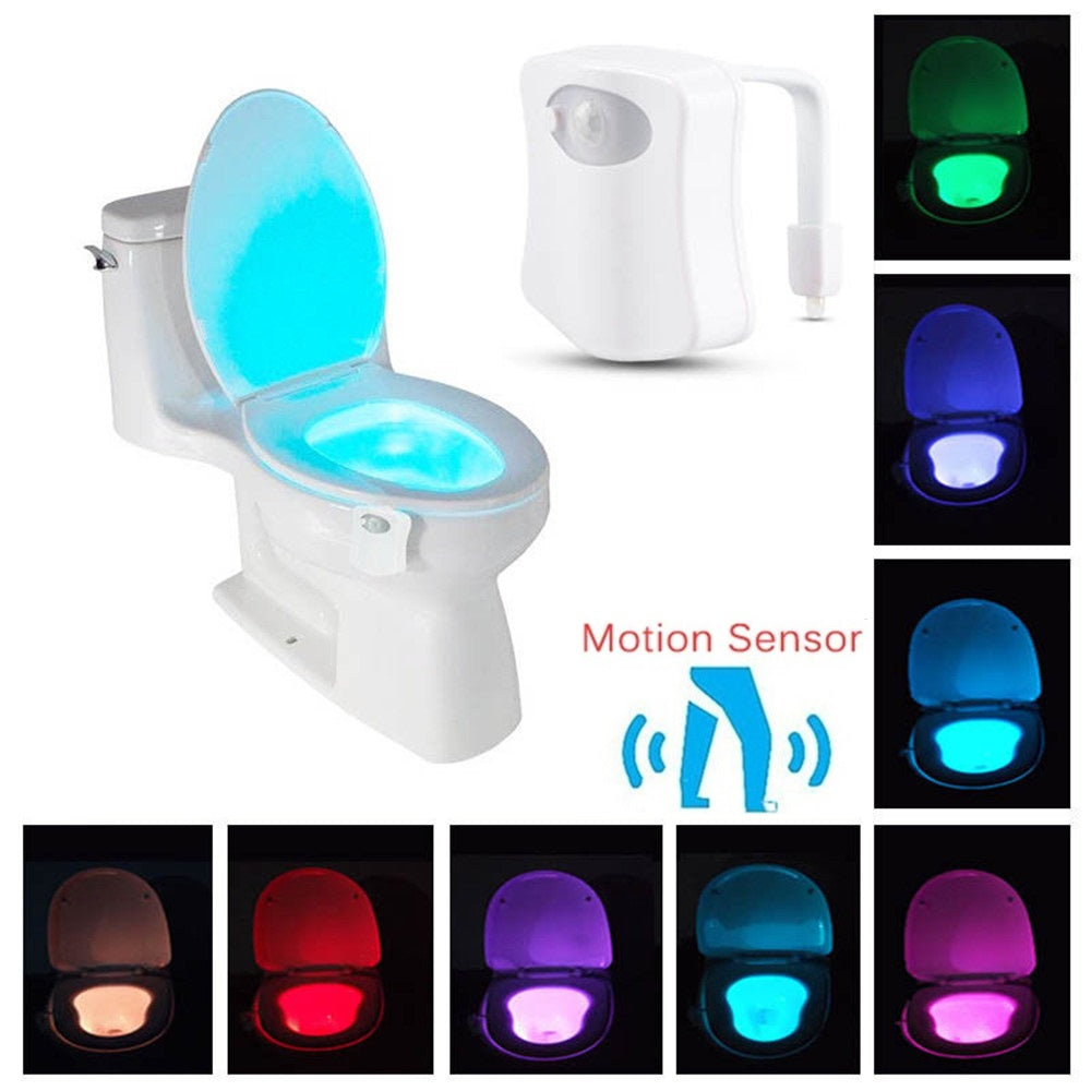 Illumibowl - Motion Activated Toilet Light