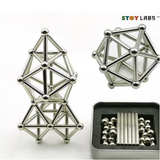 Magnetic Bars & Steel balls Construction Set