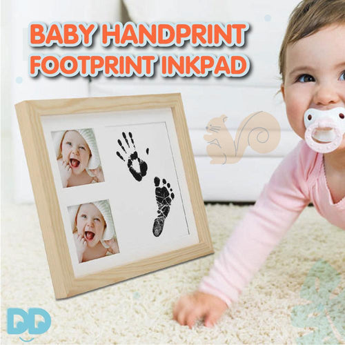 Baby Handprint Footprint Inkpad Watermark
