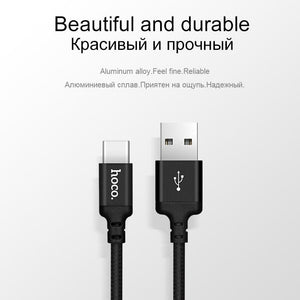 Hoco Usb Type C Cable 2A Fast Charging Data For Galaxy S8 Plus Xiaomi 6 Mi5 - -