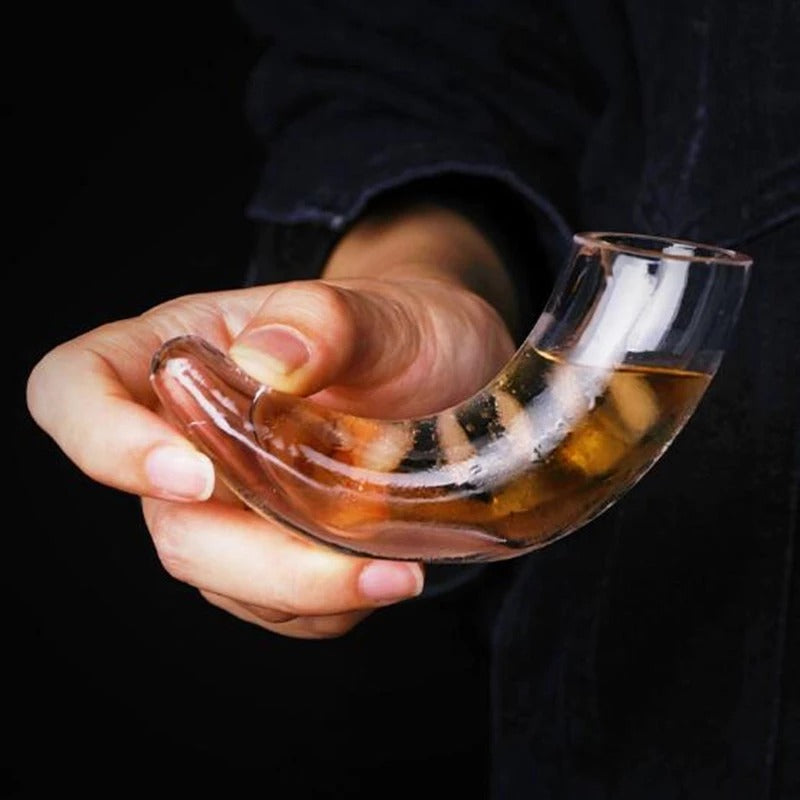 Horn Vodka Shot Glass