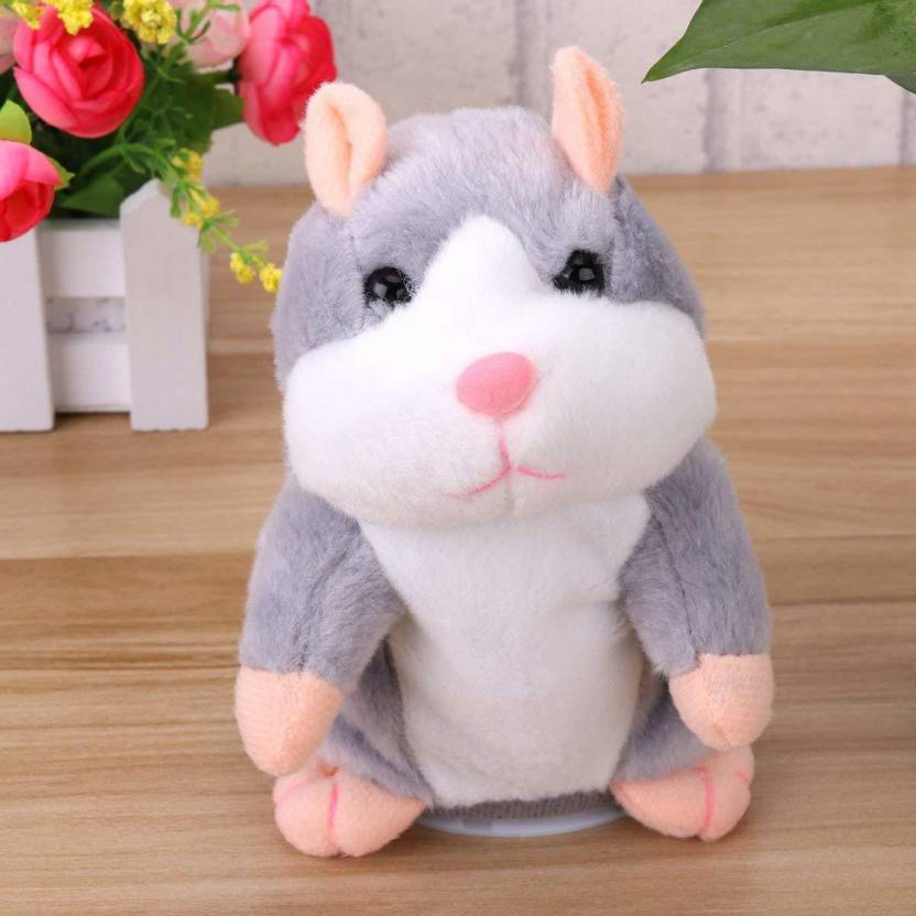 Talking Hamster Soft Toy
