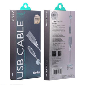 Premium Unbreakable Zinc Alloy iOS Cable