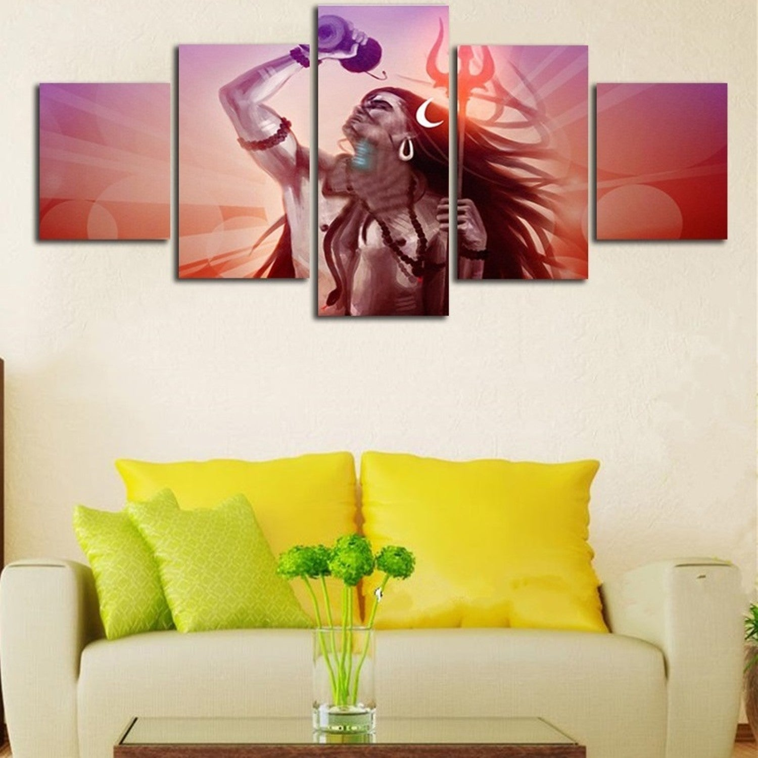 Adi Yogi | Shiva Canvas Wall Art – Deadly Mamba