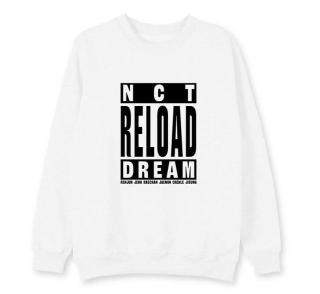 Hallyu Street Blanc / L T-SHIRT NCT NEW ALBUM EDITION RELOAD™