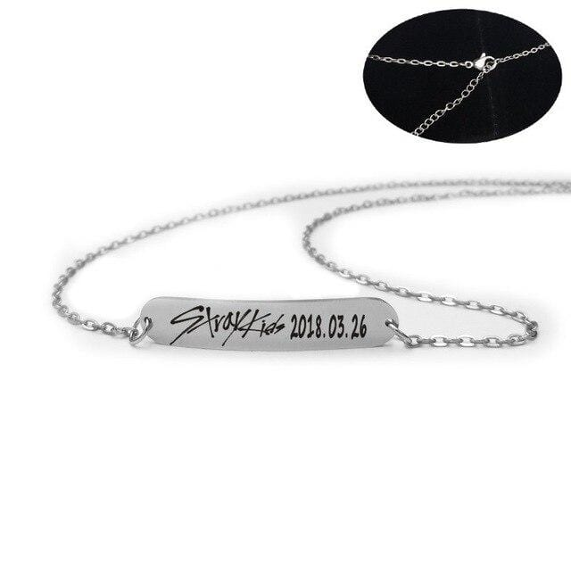Hallyu Street Colliers Collier Stray Kids Bracelet & Collier Stray Kids™ Birthday Edition