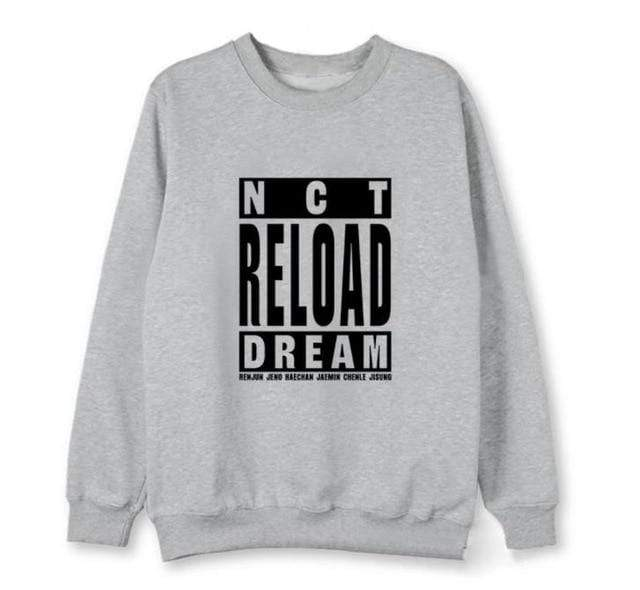 Hallyu Street Gris / XL T-SHIRT NCT NEW ALBUM EDITION RELOAD™