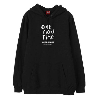 Hallyu Street Hoodies Hoodie ONE MORE TIME SUPERJUNIOR Edition™