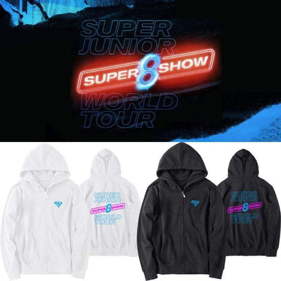Hallyu Street Hoodies Hoodie SUPERSHOW8 Edition™