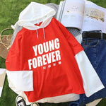 Hallyu Street Hoodies Rouge / M Hoodie BTS YOUNG FOREVER™ Edition