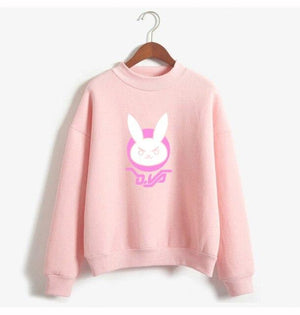 Hallyu Street Rose / M SWEATSHIRT D.VA RABBIT™