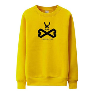 Hallyu Street Sweatshirts Jaune / S Sweatshirt Forever With You B.A.P™
