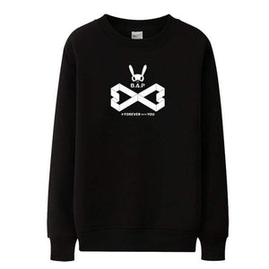 Hallyu Street Sweatshirts Noir / S Sweatshirt Forever With You B.A.P™