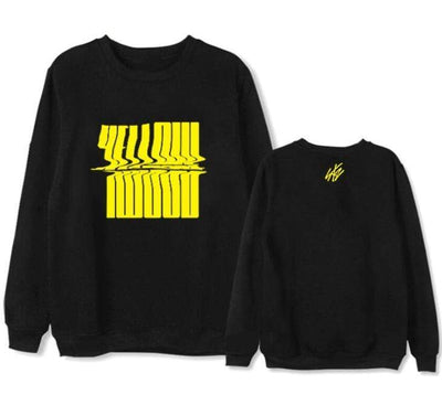 Hallyu Street Sweatshirts Noir / XL Sweatshirt YELLOW™ (Stray Kids Edition)
