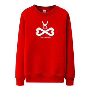 Hallyu Street Sweatshirts Rouge / S Sweatshirt Forever With You B.A.P™