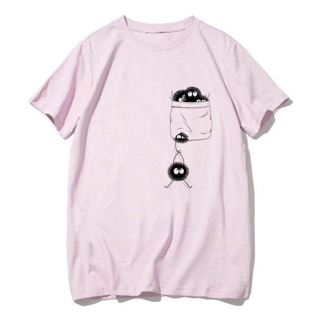 Hallyu Street Tshirts Modèle 5 / S Tshirt Ghibli Collection™