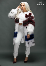 GODS KNITTED FOX FUR MID-LENGTH