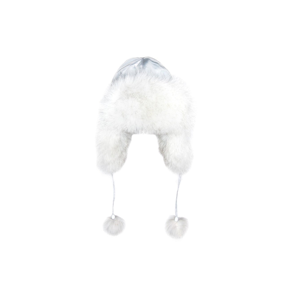 TRAPPER HAT WHITE ARTCIC FOX