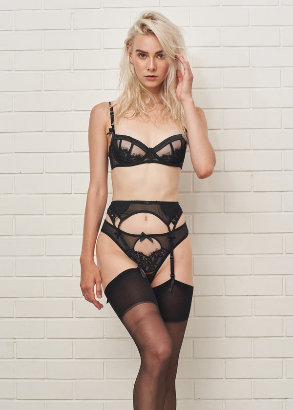 JEAN GARTER BELT - Innate Intimates