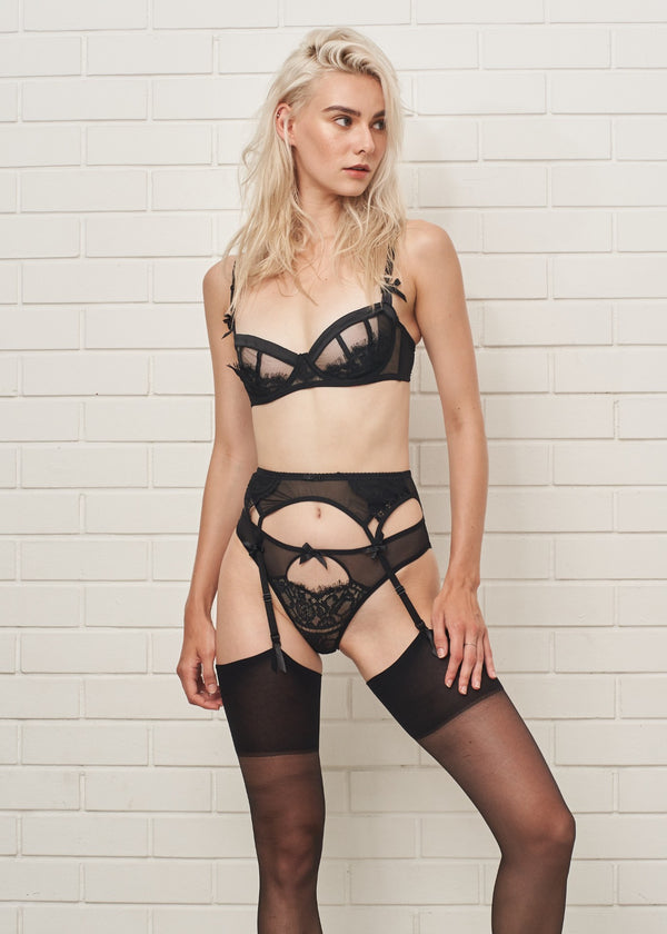 JEAN SHEER TULLE BRIEF - Innate Intimates