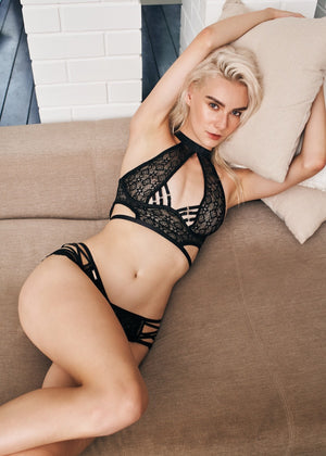 NICKI BRA BLACK - Innate Intimates