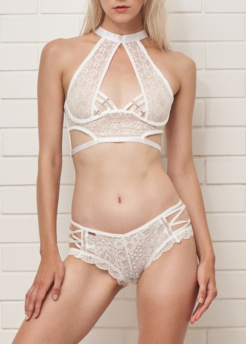 NICKI BRA WHITE - Innate Intimates