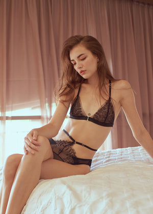 EVA HIGH WAIST CHEEKY - Innate Intimates
