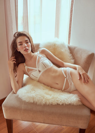 IRIS BRA WHITE - Innate Intimates