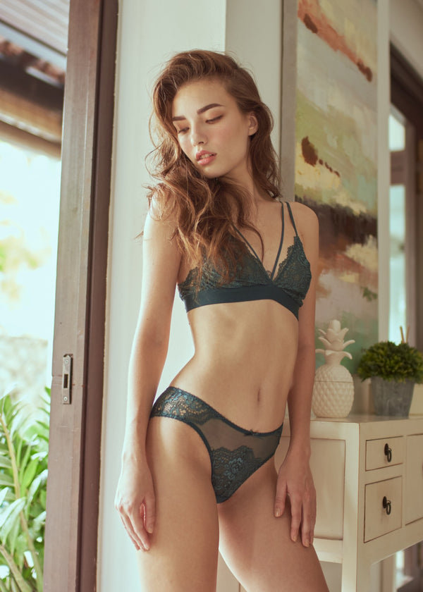 FRANCES BRIEF GREEN - Innate Intimates
