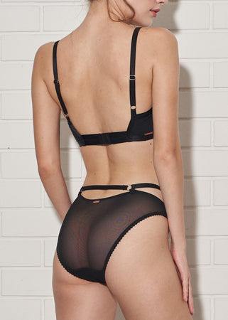 IRIS BRIEF BLACK - Innate Intimates
