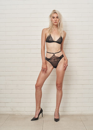 EVA LACE TRIANGLE BRA - Innate Intimates