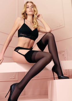 CALZE TRASPARENZE SARA STOCKINGS - Innate Intimates